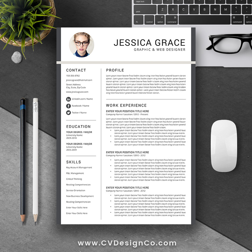 Cvdesignco Best Selling Resume Templates For Job Hunters And
