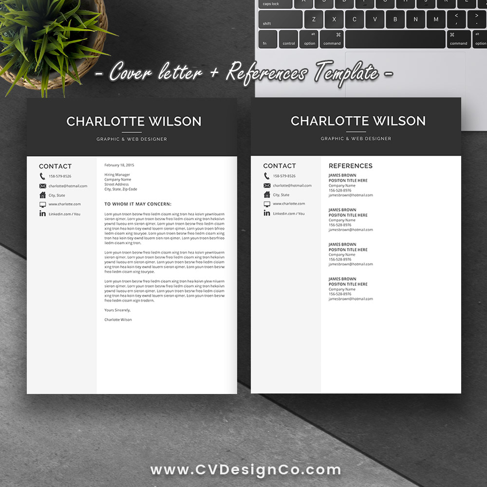 Best Selling Office Word Resume / CV Templates, Cover ...