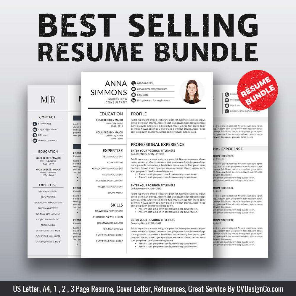 97+ Microsoft Office Word Templates Resume - Replace The
