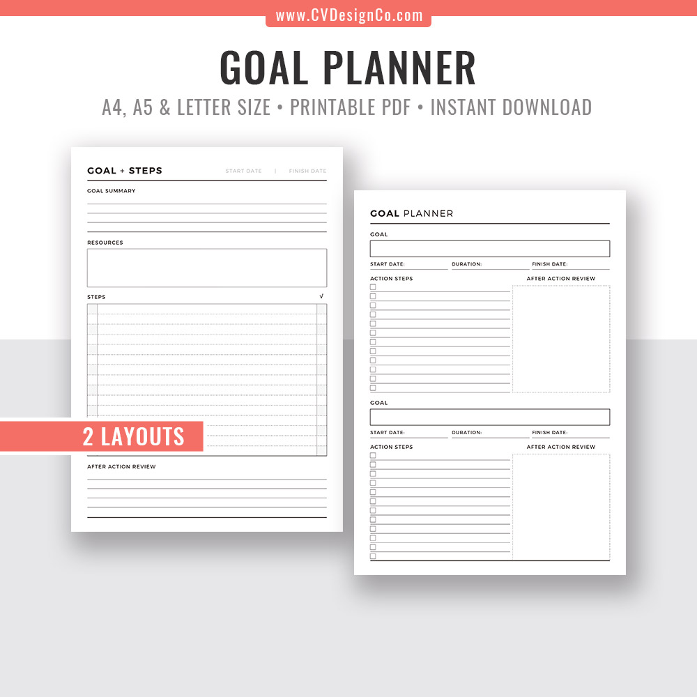 picture regarding Printable Goal Tracker known as Intent Planner 2019, Intent Tracker, Function Surroundings, Reason Digger, Planner PDF, Printable Planner, Planner Inserts, Excellent Planner, Filofax A5, A4, Letter Dimension